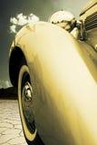 Vintage car bumpe stock photography