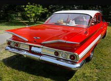 Vintage Car, Chevrolet Impala, Sports Coupe Royalty Free Stock Photo