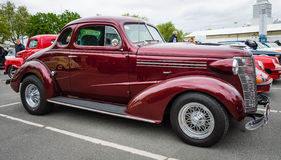 Vintage car Chevrolet Master Serie GB Business Coupe. BERLIN - MAY 10, 2015: Vintage car Chevrolet Master Serie GB Business Coupe. 28th Berlin-Brandenburg Royalty Free Stock Image
