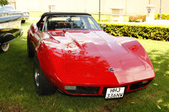 Vintage Car 1973 Chevrolet Stingray Corvette Royalty Free Stock Photography