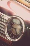 Vintage car clock Stock Photos
