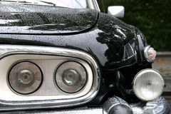 Vintage car close-up Stock Photo