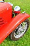 Vintage car close-up Stock Photos