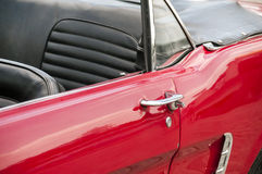 Vintage car closeup Royalty Free Stock Photography