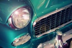 Vintage car closeup Stock Photography