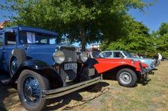 Vintage Car Club - New Zealand Royalty Free Stock Photo