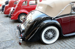 Vintage car collection Royalty Free Stock Images