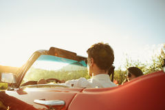 Free Vintage Car Couple Royalty Free Stock Image - 33320846