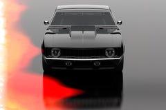 Vintage car. 3D render concept of vintage car, cool design Stock Images