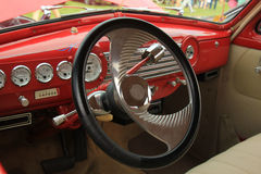 Vintage car dashboard Royalty Free Stock Photography