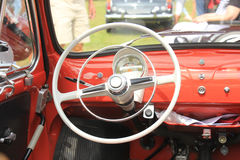 Vintage car dashboard Royalty Free Stock Photos