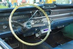 Vintage car dashboard Royalty Free Stock Photos