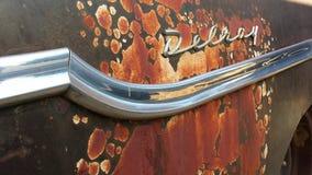 Vintage car delrey rust decay Stock Image