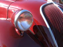 Vintage car - detail Stock Photography