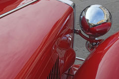 Vintage car detail Stock Images