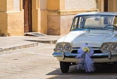 Vintage car. Detail of a vintage car royalty free stock photo