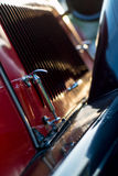 Vintage car detail - bonnet hook Stock Photography