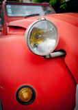 Vintage car detail Royalty Free Stock Images