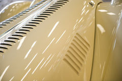 Vintage car detail. Close up of car details of a vintage vehicle royalty free stock photos