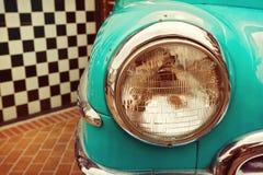 Vintage car detail close up Royalty Free Stock Photo