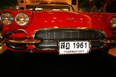 Vintage car on display, Thailand. Royalty Free Stock Image