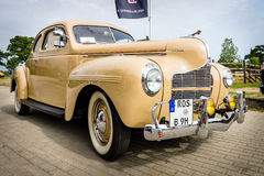 Vintage car Dodge Business Coupe, 1940. Royalty Free Stock Photo