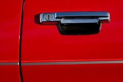 Vintage car door handle. Stock Images