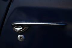 Vintage car door handle Stock Images