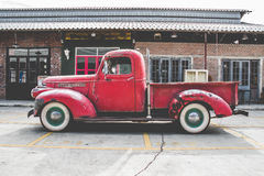 Vintage Car. A dSLR color image a vintage,Talad Rot Fai Market,Bangkok,Thailand Stock Images