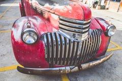 Vintage Car. DSLR color image a vintage car,Talad Rot Fai Market,Bangkok,Thailand Stock Photos