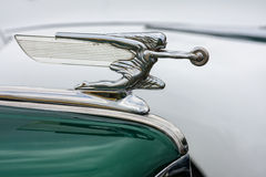 Vintage car emblem Royalty Free Stock Photos