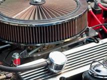 Vintage Car Engine Stock Photo