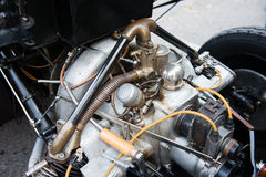 Vintage car engine Royalty Free Stock Photos