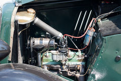 Vintage car engine detail Royalty Free Stock Photography