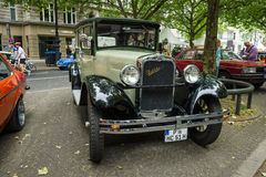 Vintage car Erskine (Studebaker) Model 51 Sedan, 1928 Stock Photography