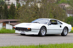Vintage  car Ferrari 308 GTB from  1977 Stock Image