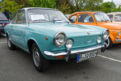 Vintage car Fiat 850 coupe, 1970. Royalty Free Stock Image