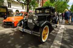 Vintage car Ford Model A Business Coupe, 1931. Royalty Free Stock Photography