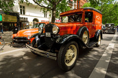 Vintage car Ford Model A Panel Truck. Royalty Free Stock Photography