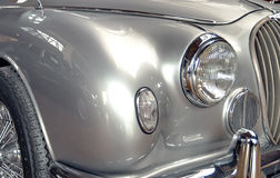 Vintage car front grille Royalty Free Stock Image
