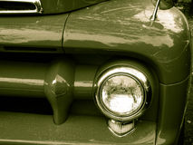 Vintage car front Royalty Free Stock Images