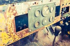 Vintage car gauge meter Stock Image