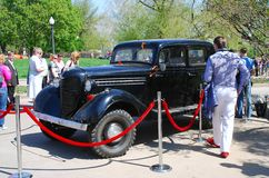 Vintage car GAZ-M-1 Stock Images