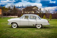 Vintage car GAZ M21 Volga Royalty Free Stock Photos