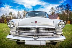 Vintage car GAZ M21 Volga Stock Photography