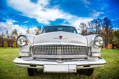 Vintage car GAZ M21 Volga Stock Images