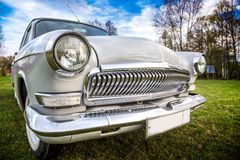 Vintage car GAZ M21 Volga Royalty Free Stock Photography