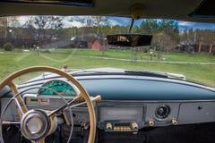 Vintage car GAZ M21 Volga Stock Photos