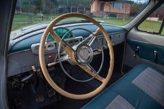 Vintage car GAZ M21 Volga Royalty Free Stock Images