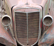 Vintage Car Grill Stock Photo